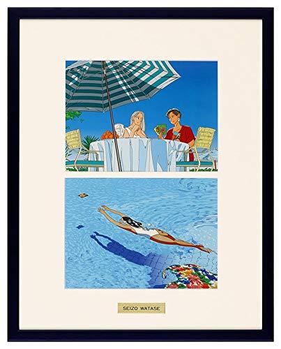 わたせせいぞう アートポスター(オフセット) 「モノトーンより少しブルーな気分」