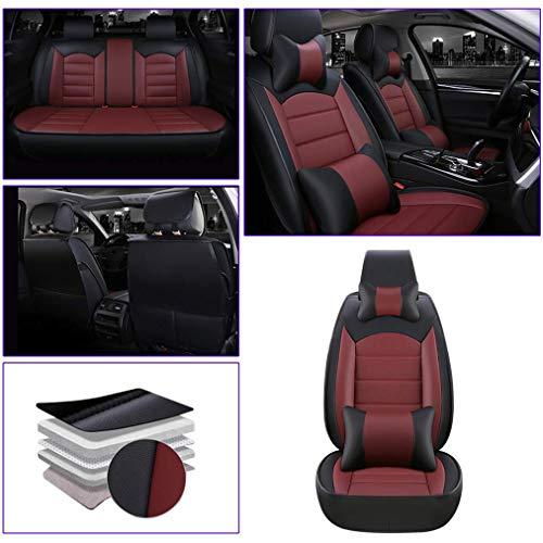 Muchkey para Volvo V50 V60 V70 V90 V60 Cross Country V90 Cross Country Delanteros Fundas para Asient