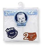 Gerber Waterproof Baby Pants, 2 Pk, Vinyl (3-6 mo/12-16 lbs)