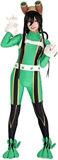 Women's Froppy Tsuyu Asui Cosplay Costume Suit