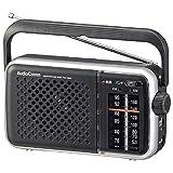 オーム電機 【電池節約タイプ】AM/FM