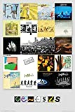 Buyartforless Genesis Albums 19 from 1970-2007 36x24 Music