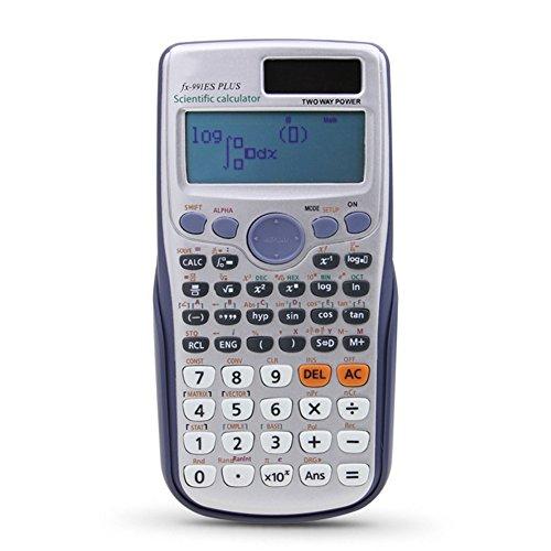 Redcolourful Studentenfunktion Wissenschaftlicher Taschenrechner Matrix Complex Solve Equations für Office Schule Supplies Studenten Geschenk
