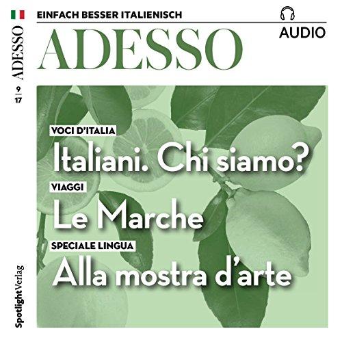 ADESSO audio - Italiani. Qui siamo? Come siamo? 9/2017 Titelbild