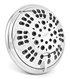6 Function Adjustable Luxury Shower Head - High Pressure Boosting, Wall Mount, Bathroom Showerhead For Low...