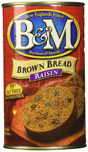B&M Brown Bread with Raisins, 16 Oz. Can