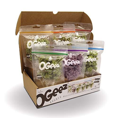 Ogeez Krunch 420 Day Limited Edition Knusper-Schokoladenstücke in Weed-Optik 12 x 50g (600g)
