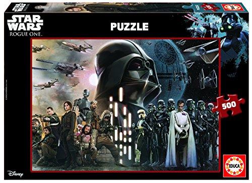 Star Wars - Puzzle Rogue One, 500 Piezas (Educa Borras 17013)