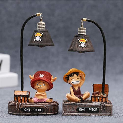 Lote de 2 lámparas de noche de One Piece Luffy...