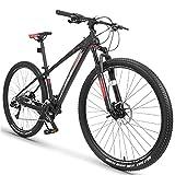 Bicicleta de montaña, Bicicleta De Montaña Para Hombres, 26/29 Pulgadas Ruedas Aleación Marco 33 Velocidad...