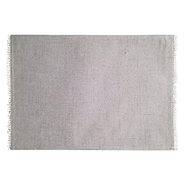 Lenox French Perle Solid Set of 4 Placemats, Dove Grey
