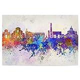 artboxONE Poster 75x50 cm Städte Bologna Skyline in