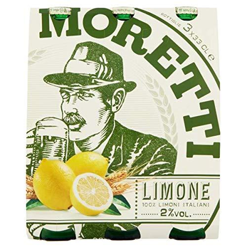 Birra Moretti - Limone Bevanda Rinfrescante, 330 ml (Pacco da 3) - [pacco da 4]