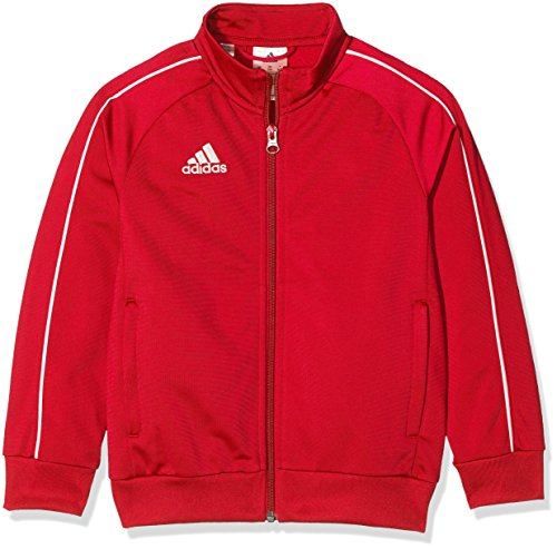 adidas CORE18 PES JKTY, Rot(Rot (Power Red/White)), 116