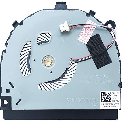 (Chipset - VRAM Version) Fan Cooler Compatible with Dell Inspiron 13-7386, Dell P/N: 0G0Y8C, Model: ND55C13-18A11, P/N: 023.100D2.0001
