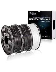 SUNLU Filamento PLA 1.75mm 1kg Impresora 3D Filamento, Precisión Dimensional +/- 0.02 mm, PLA