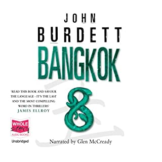 Bangkok 8 audiobook cover art