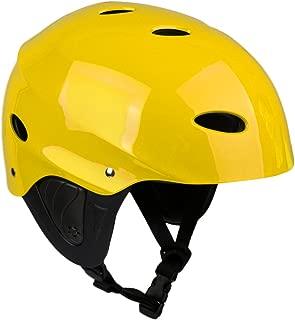 MonkeyJack Water Sports Safety Helmet Rescue Kayak Canoeing Boating Sailing Jet Ski Kite Surf Protective Hard Cap CE Approved M/L 54-60cm/58-62cm