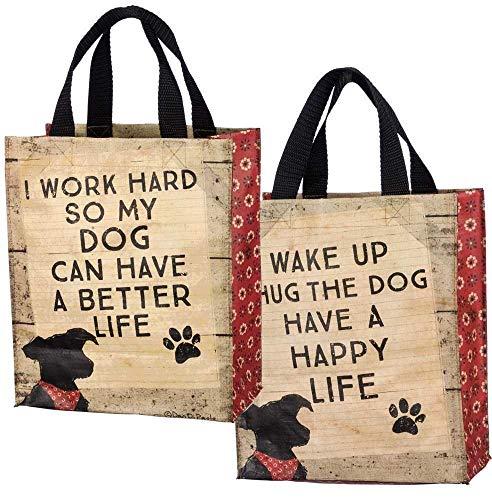 Tragetasche für den täglichen Gebrauch, für Leckerlis Hug The Dog Hundefutter, 21 x 26 x 12 cm