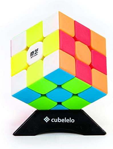 Cubelelo QiYi Warrior 3x3 Stickerless Magic Speed Cube 3x3x3 Puzzle
