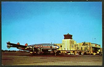 TWA Connie Weir Cook Airport Indianapolis postcard 1950s
