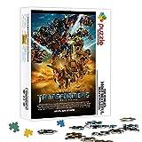 Rompecabezas de madera Transformers Color Puzzle 1000 piezas 29.5X19.5 pulgadas Juegos de rompecabezas para aliviar el estrés y regalos únicos