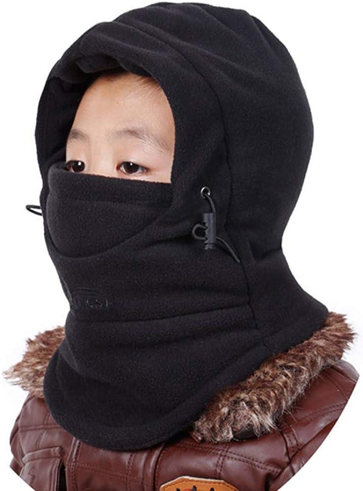 MAGARROW Kids Balaclava Winter Hat Ski Warm Hood Cold Weather Outdoor Sports Hat for Boys Girls
