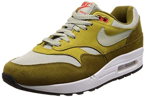Nike Men's Air Max 1 Premium Retro, Olive FlakSpruce Fog, 8 M US