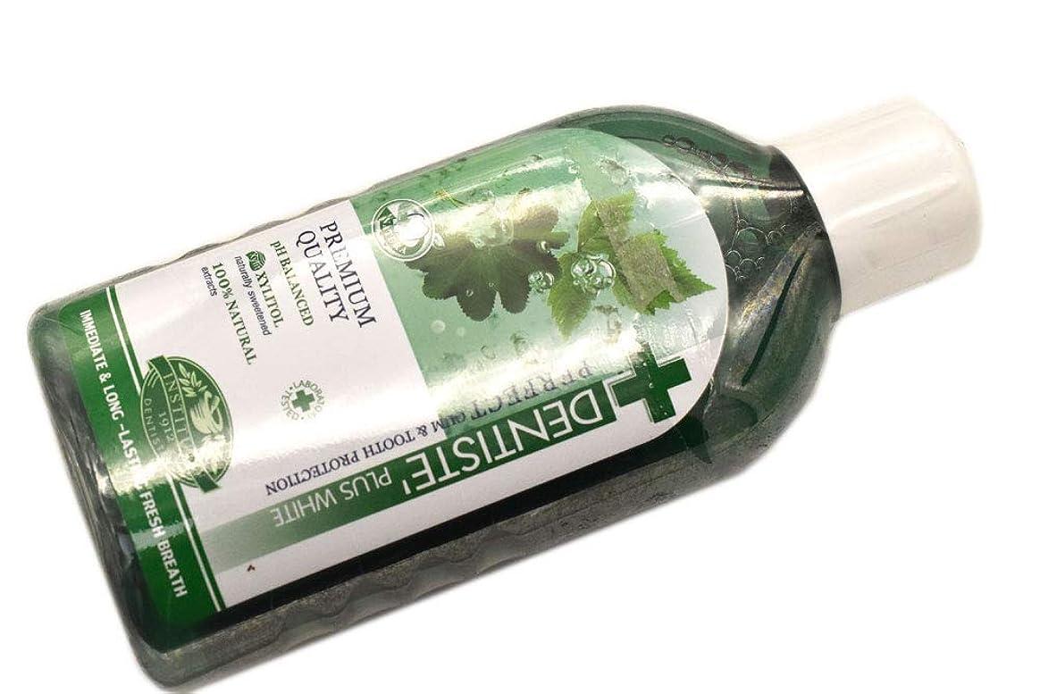 ミニチュア眉雪だるまを作るDENTISTE' デンティス マウスウォッシュ オーラルリンス 450ml オーラルケア 洗口液 並行輸入品