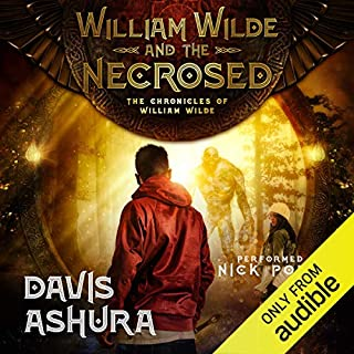 William Wilde and the Necrosed audiobook cover art