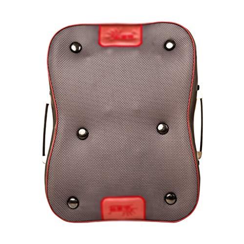 Ocye Shiatsu-rugmassage-apparaat met warmteafvoerend, geweven massage-zitkussen, massage-stoelkussen voor volledige verlichting van rugpijn, voor thuis- of bureaustoel