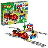 lego duplo steam train 10874 remote-control building blocks set  helps toddlers learn, great