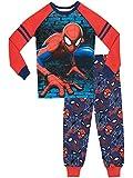 Spiderman Jungen Spider-Man Schlafanzug Slim Fit Blau 128