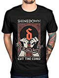 Brilliancegem Shinedown Cut The Cord Classic Tee,Funny Men's Fashionable Soft T-Shirt Black L