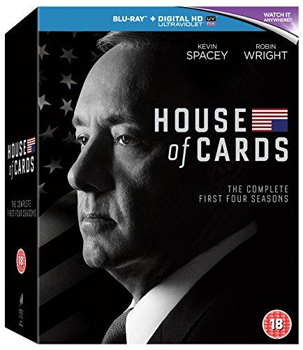 House of Cards - Season 01 / House of Cards - Season 02 / House of Cards - Season 03 / House of Cards - Season 04 - Set [Reino Unido] [Blu-ray]