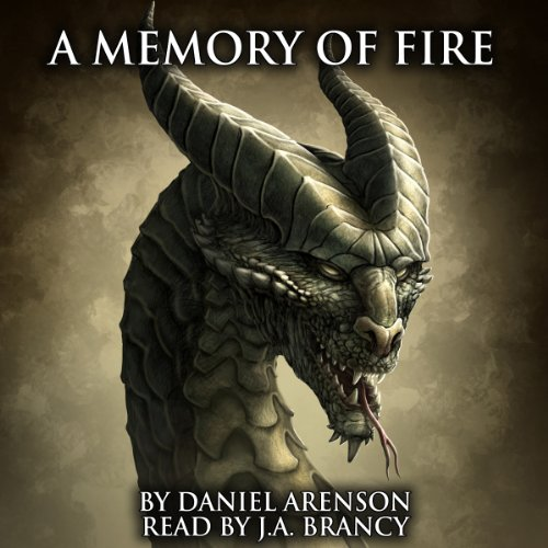 A Memory of Fire audiobook cover art