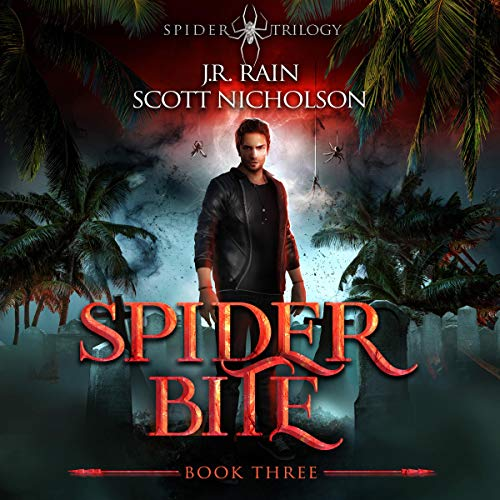 Spider Bite: A Vampire Thriller (The Spider Trilogy Book 3) Titelbild