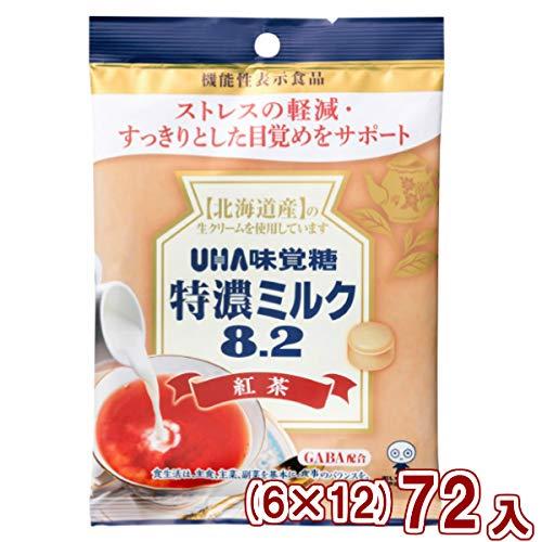 味覚糖 機能性表示食品 特濃ミルク8.2 紅茶 (6×12)72入