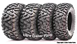 Set of 4 New WANDA ATV/UTV Tires 25x8-12 Front & 25x10-12 Rear...