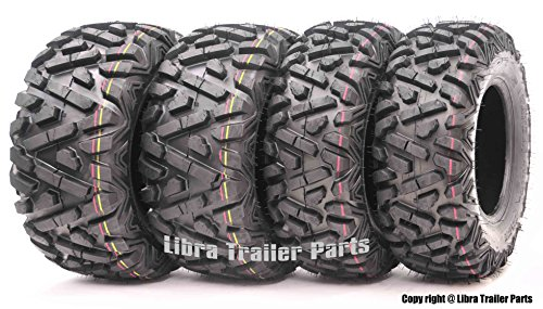Set of 4 New WANDA ATV/UTV Tires 25x8-12 Front & 25x10-12 Rear /6PR P350-10163/10165 …