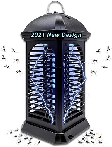 Electric Mosquito Killer Lamp Bug Zapper, Powerful Mosquito Trap, Mosquito Zappers, Flying Insect Killer ,Light-Emitting Mosquito Catcher Trap Killer Lamp for Indoor Home Bedroom,Kitchen and Office