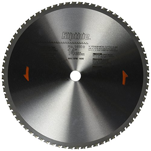 PORTER-CABLE 14-Inch Metal Cutting Blade, 1-Inch Arbor, 72-Tooth (14103)