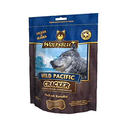 Wolfsblut 4 x 225g Cracker Wild Pacific mit Fisch