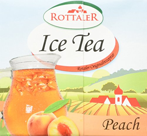 Rottaler Eistee Pfirsich, 12er Pack (12 x 500 ml)
