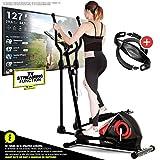 Sportstech CX608 Vélo Elliptique Appartement Fitness Ergomètre Cardio...