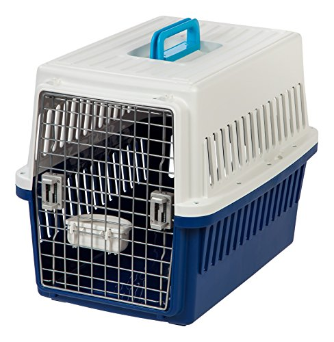IRIS USA Medium Deluxe Pet Travel Carrier, Navy ATC-670