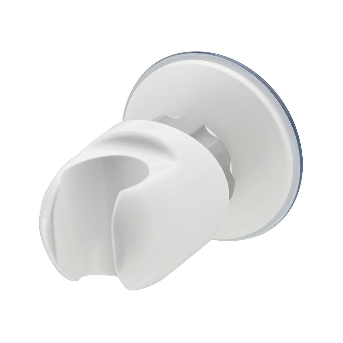 脆いロデオ欠伸カクダイ 角度調節シャワーフック ホワイト 353-582
