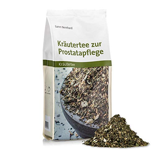 Sanct Bernhard Kräutertee zur Prostatapflege mit Brennnessel, Holunder, Birke, Taubnessel 500 g