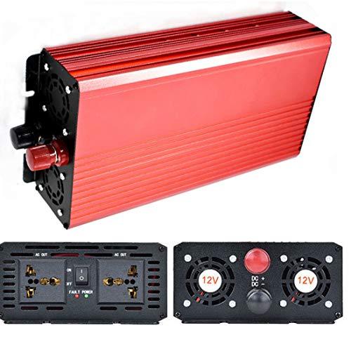 3000W DC 24V to AC 110V Portable Car LCD Power Inverter WATT Charger Converter