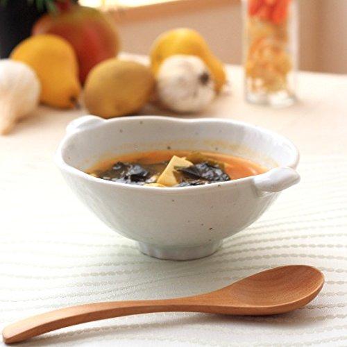 美濃焼手付きスープ碗 取っ手があるので熱々スープも安心 煮物椀 小鉢 中鉢 肉じゃが鉢 とんすい 国産 美濃焼 和食器 アウトレット 訳あり